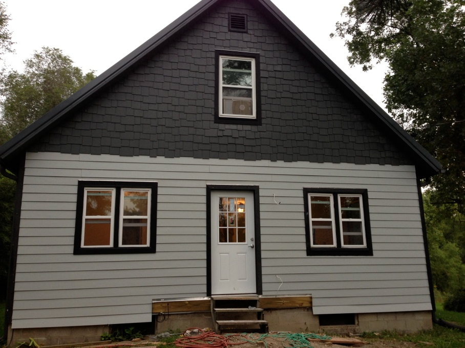 Front exterior after